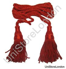 Cord Bugle Ceremonial Stewart Bugle Cord For Marching Bands Red Colour R1469