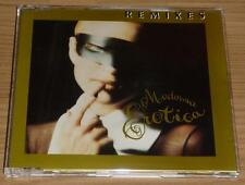 MADONNA Erotica (Remixes) GERMAN 5 TRACK GOLD CD SINGLE MINT!!