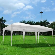 10'x20' Outdoor Ez Pop Up Wedding Party Canopy Tent Patio Pavilion Cater Events