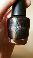 OPI My Private Jet Nail Polish Lacquer - original black holo holographic version