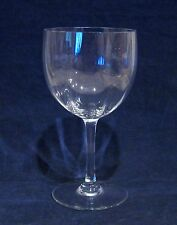 Baccarat Montaigne Optic Water Goblet Glass