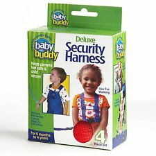 Deluxe Security Harness By Baby Buddy for Children/Toddler  Color: RED