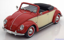 1:18 KK-Scale VW 1200 Hebmüller Convertible with removable Softtop