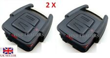 2 PACK 2 Button Remote Key Fob Case For Vauxhall Opel Astra Vectra Zafira New UK