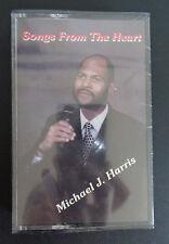 MICHAEL J HARRIS Vintage SONGS FROM THE HEART Cassette NEW Religious Music
