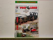Revue VOIE LIBRE 37 - Réseau Réthique - Construire un Tombereau Decauville en Oe