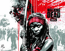 THE WALKING DEAD - MICHONNE POSTER PRINT - BUY 2 GET 1 FREE