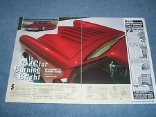 "1953 Studebaker Starlight Custom Article ""Red Star Burning Bright"" Chopped Top"