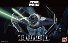 BANDAI Star Wars 1/72 Tie Advanced x1 No. 191407 USA Seller