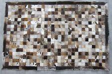 TAPPETO, Cowhide Rug, Area Rug, tappeto, Pavimento MAT, Mosaico, fatti a mano, 150x100