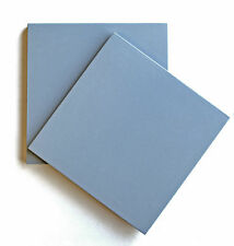 8X8 Solid Powder Blue Porcelain Stoneware Wall and Floor Tile(Sold by the piece)