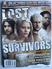 SURVIVORS  2006 LOST YEARBOOK 100-PAGE SPECIAL! Sept/Oct 2006 LOST Magazine #6