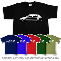 VW VOLKSWAGEN GOLF GTI MK3 5DR INSPIRED T-SHIRT - CHOOSE FROM 6 COLOURS (S-XXXL)