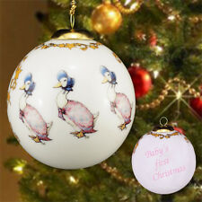 Beatrix Potter Jemima Puddle-duck  Bauble Baby`s 1st Xmas in Gift Box  23738