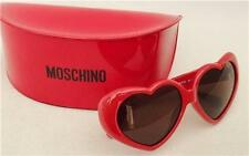 MOSCHINO Heart shaped Sunglasses, with Case, New & AUTHENTIC