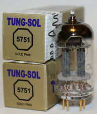 Tung Sol 5751 Gold Pin tubes,Reissue,NEW, Matched Pair
