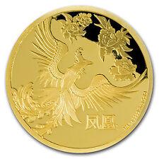 2016 Niue 1/4 oz Proof Gold $25 Feng Shui Phoenix - SKU #95189