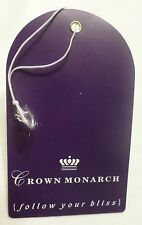 ms Crown Monarch . Crown Cruise Line . 1990 Baggage Tag . Ship Cunard Boat