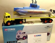 Corgi  12801 Foden flat truck 1:50 scale with submarine load. Great Combo NEW !