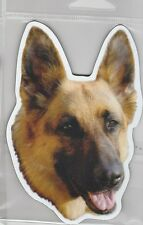 German Shepherd 4 inch face magnet for car or anything metal     New