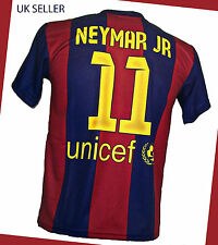 NEYMAR  FOOTBALL FANS MENS T-SHIRT FC BARCELONA SIZE S