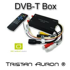 AUTO/KfZ DVB-T-Box/Receiver/Tuner 12V DIGITAL TV MPEG4 Tristan Auron
