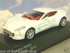 WHITEBOX MODELS DIECAST 1/43 2010 ASTON MARTIN ONE-77 IN PEARLESCENT WHITE WB159
