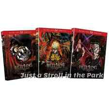 Hellsing Ultimate Complete Anime TV Series 1 2 3 Volumes 1-10 BluRay/DVD Combo
