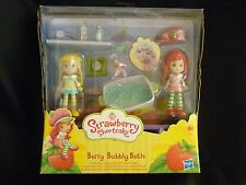 Strawberry Shortcake Doll set - BERRY BUBBLY BATH - RARE - New