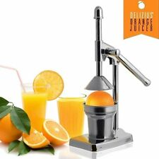 PRESSE-AGRUMES LEVIER JUICER ORANGE CITRON FRUITS MANUEL ACIER INOX