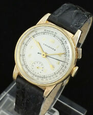 1940 VINTAGE LONGINES ONE BUTTON FLY BACK CHRONOGRAPH WATCH – CAL 12.68Z RARE