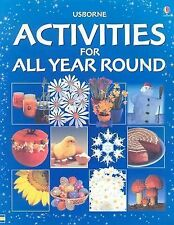 Usborne Activities for All Year Round-ExLibrary