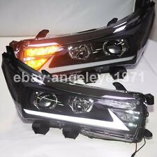 2014-2016 Year Lexus Style For Corolla Altis LED Strip Headlights Front Lamps YZ