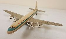 Vintage Daiya Japan tin friction toy United Air DC70 RARE!!