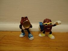 Set of Two 1988 Calrab For Appluse California Raisin Vintage Trumpet Boombox