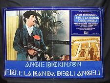 FOTOBUSTA CINEMA - F.B.I. E LA BANDA DEGLI ANGELI - A. DICKINSON -1974-GIALLO-09