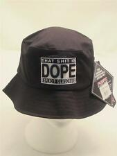 Black Dope Bucket Hat Old School Hip Hop Rap Summer Fisherman Sun Bowler