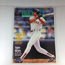 Beckett Baseball Magazine, April 1995 Issue # 121, Jose Canseco, Exc. Condition