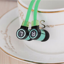 Universal Stereo 3.5mm In Ear Headphone Earphone Earbud For Phone PC MP3/4 Green