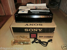 Sony bdp-s5000es high-end Lettore Blu-ray, DVD CodeFree, OVP, 2j. GARANZIA