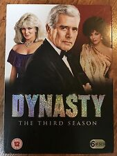DYNASTY - THE THIRD SERIES / 3 ~ Cult American Soap Opera Series UK 7-Disc DVD