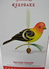 Western Tanager The Beauty of Birds series HALLMARK 2015 ornament New in Box