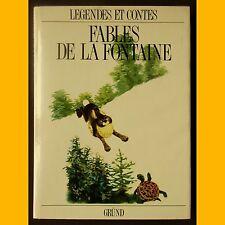 FABLES DE LA FONTAINE Jiri Trnka Éditions Gründ 1989