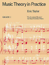 Music Theory in Practice Grade 1 ABRSM Exercises Tutor Book Exam Prep S18