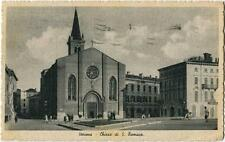 1939 Verona - Vista esterna della Chiesa di San Tomaso, Grassina - FP B/N VG