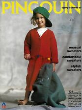 Pingouin Knitting Magazine - Spring Summer 1990 Children's Issue No. 124