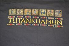 Tutankhamun King Tut Egypt Egyptian Museum Exhibit T Shirt Large Archaeology