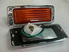 MAZDA RX3 RX-3 808 FRONT SIDE MARKER LIGHTS LAMPS  NEW