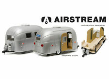 GREENLIGHT 18224 AIRSTREAM BAMBI 16' CAMPER TRAILER 1/24 DIECAST MODEL SILVER