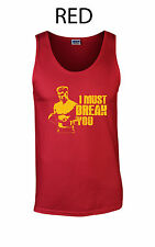 076 Must Break you Tank Top cool funny ivan boxing 70s party 80s classic drago